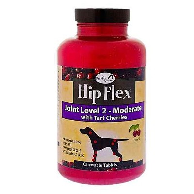 Overby Farms Hip Flex Joint Level 2 Moderate Care with Tart Cherries Dog Tablets