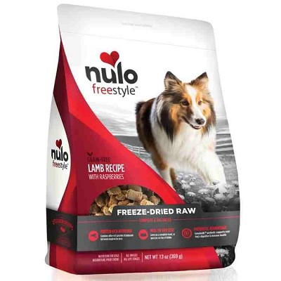 Nulo Freestyle Freeze Dried Lamb with Raspberries Dog Food, 13-oz Bag