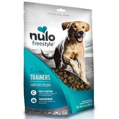 Nulo Freestyle Grain Free Trainers Salmon Recipe Dog Treats 4 Oz