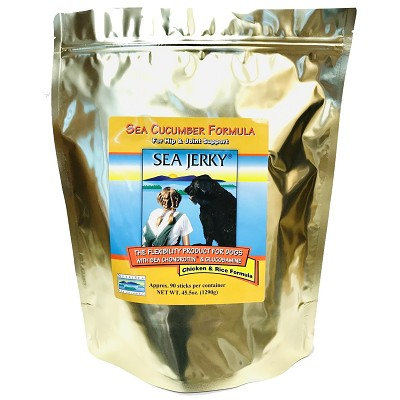 NutriSea Sea Jerky Chicken Formula Joint Dog Treats, 90-Count