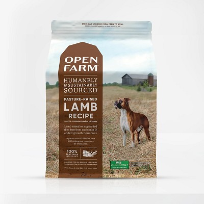 Open Farm Pasture Raised Lamb Dry Dog Food, 12-lb Bag