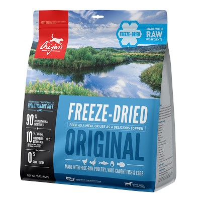 ORIJEN Original Freeze-Dried Dog Food, 16-oz Bag