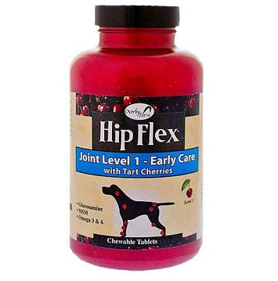 Overby Farms Hip Flex Joint Level 1 Early Care with Tart Cherries Dog Tablets