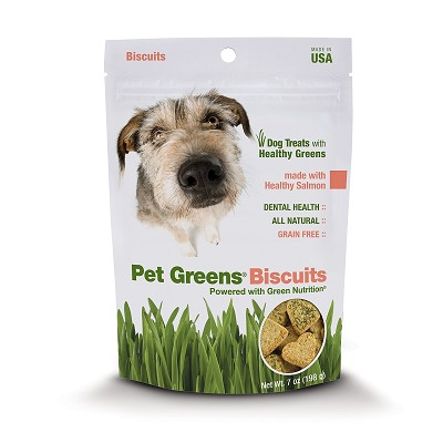 Discontinued, Pet Greens Healthy Salmon Biscuits Dog Treats