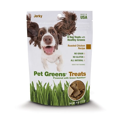 Pet Greens Roasted Chicken Jerky Style Dog Treats