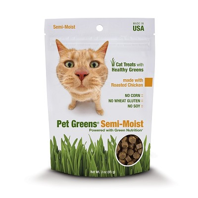 Pet Greens Roasted Chicken Semi-Moist Cat Treats