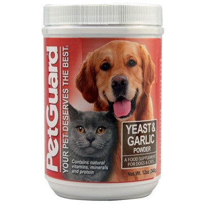 Pet Guard Yeast and Garlic Powder for Dogs