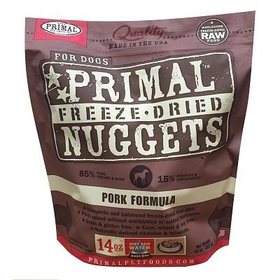 Primal Pork Freeze Dried Dog Food