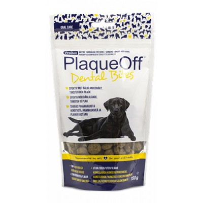ProDen PlaqueOff Dental Bites Treats for Dogs, 150 Grams