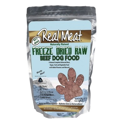 Discontinued, Real Meat Beef Recipe Freeze-Dried Dog Food