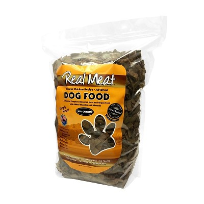 Real Meat Chicken Recipe Air-Dried Raw Dog Food, 10 lb