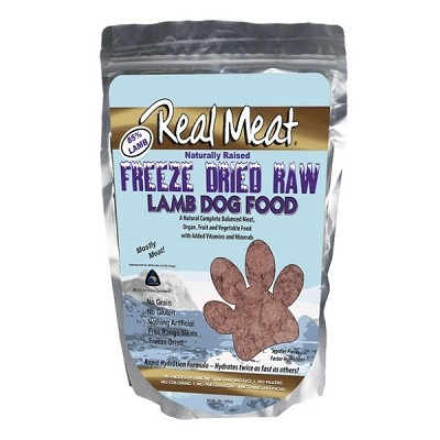 Discontinued, Real Meat Lamb Recipe Freeze-Dried Dog Food