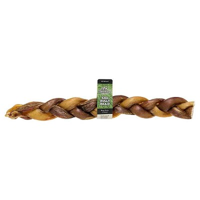 "Redbarn Braided Bully Sticks 12"" Dog Treats, 1 Count"