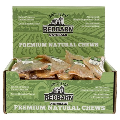 Redbarn Large Beef Straps Dog Treats, Case of 25