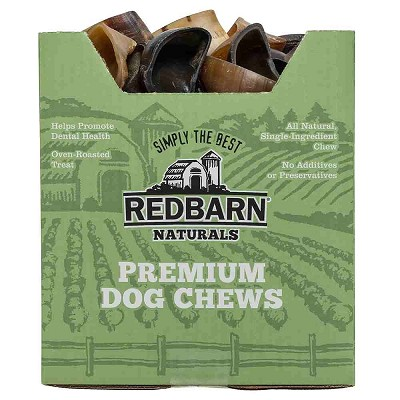 Redbarn Naturals Cow Hooves Dog Treats, Case of 75