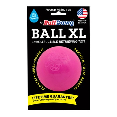 Ruff Dawg Ball XL Made in USA Dog Toy