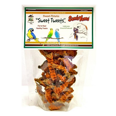 Sam's Yams Sweet Tweets Sweet Potato Treats for Birds