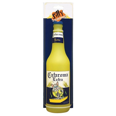 Silly Squeakers Beer Bottle Dog Toy, Cataroma Extra