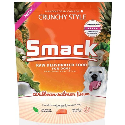Smack Caribbean-Salmon Fusion Dehydrated Dog Food, 3.3-lb Bag
