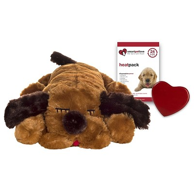 Smart Pet Love Snuggle Puppy Brown Mutt Behavioral Aid Toy