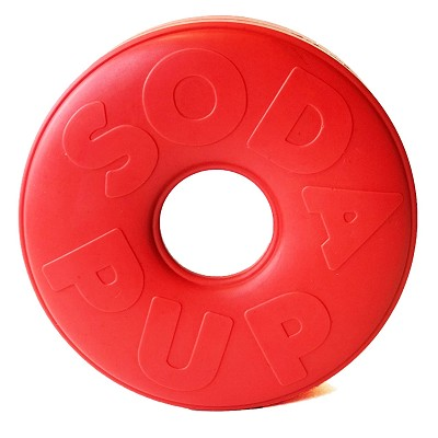SodaPup Life Ring Rubber Dog Toy Made in USA