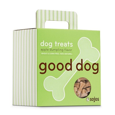 Sojos Good Dog Apple Dumpling Flavor Dog Treats