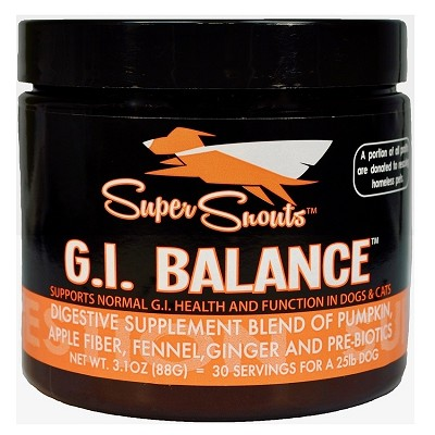Super Snouts G.I.Balance Digestive Supplement for Dogs