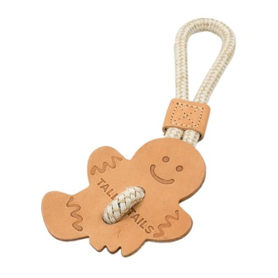 Tall Tails Gingerbread Tug Toy for Dogs