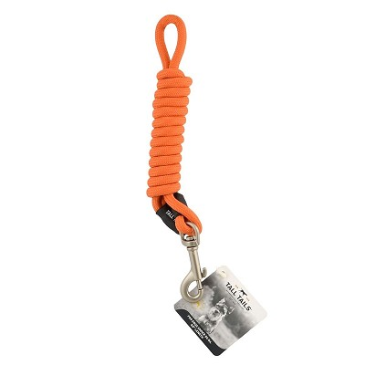 Tall Tails Orange Dog Leash, For Dogs Under 50 lbs