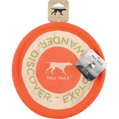 Tall Tails Soft Flying Disc Dog Toy, 10