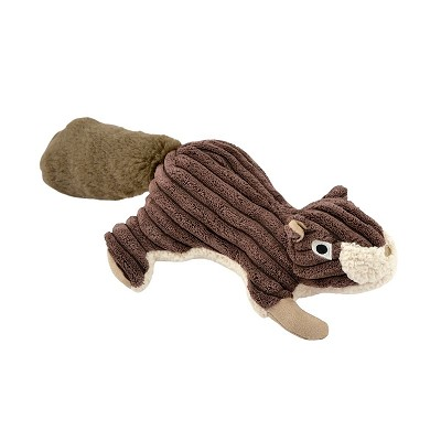 Tall Tails Squirrel with Squeaker Plush Dog Toy