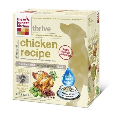 The Honest Kitchen Thrive Dehydrated Dog Food