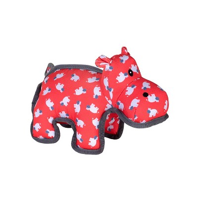 The Worthy Dog Hanna Hippo Dog Toy, Small