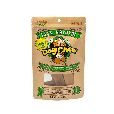 Tibetan Dog Chew Himalayan Cheese, Medium, 2-Count