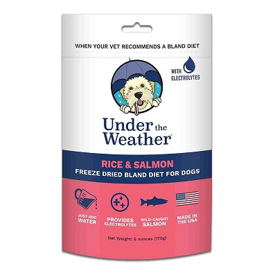 Under The Weather Salmon & Rice Freeze-Dried Bland Diet for Dogs