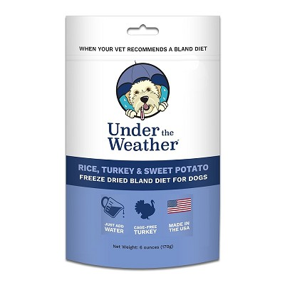 Under The Weather Turkey, Rice & Sweet Potato Freeze-Dried Bland Diet for Dogs