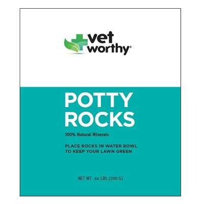 Vet Worthy Potty Rocks Green Lawn Aid For Dogs
