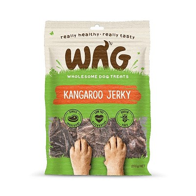 WAG Kangaroo Jerky for Dogs, 200-Grams