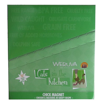 Weruva Cats in the Kitchen Chick Magnet Recipe Cat Food Pouches