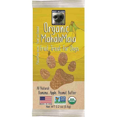 Wet Noses MahaloMaia Banana Organic Fruit Treat for Dogs