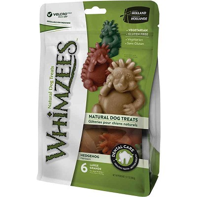 Whimzees Hedgehog Dental Dog Treats, Large