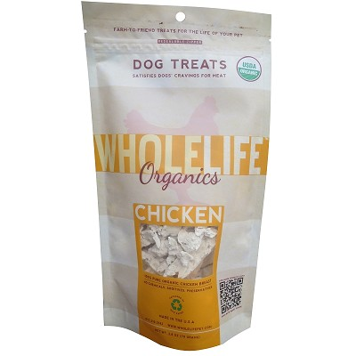 Discontinued, Whole Life Organic Chicken Freeze-Dried Dog Treats