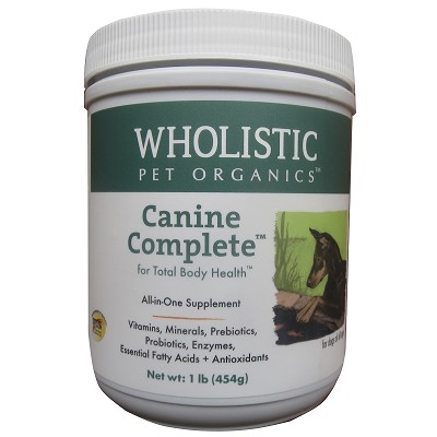 Wholistic Pet Organics Canine Complete Dog Supplement, 1 lb