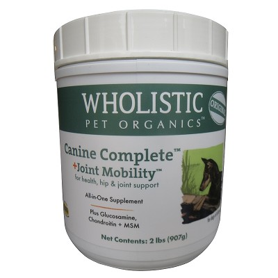 Wholistic Pet Organics Canine Complete Joint Mobility Dog Supplement, 2 lb