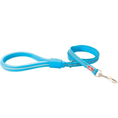 Wigzi Weatherproof Gel Dog Leash, Blue