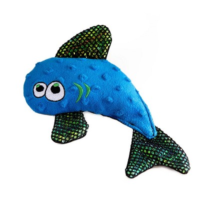 WO Wild Fish Plush Dog Toy