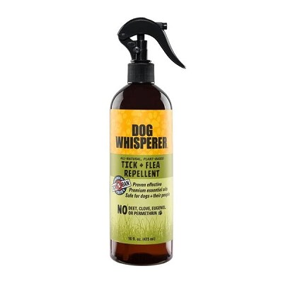 YAYA Organics Dog Whisperer Tick + Flea Repellent, 16-oz Bottle