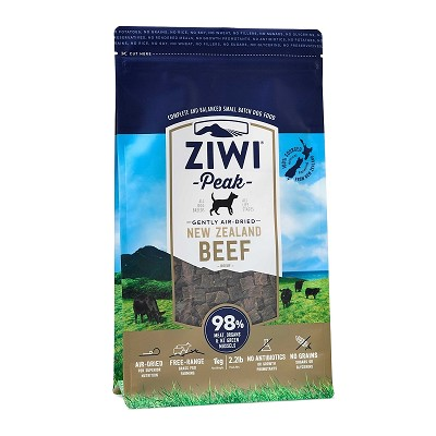Ziwi Air-Dried Beef Recipe Food For Dogs, 2.2-lb Bag