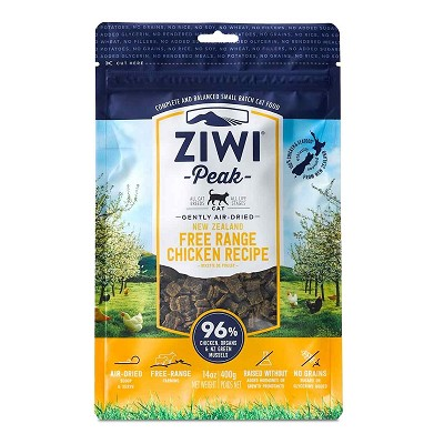 Ziwi Air-Dried Free Range Chicken Recipe Cat Food, 14-oz Bag