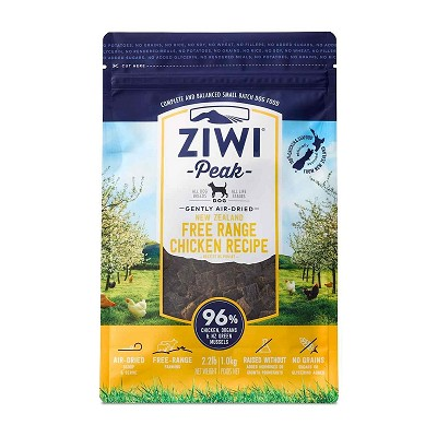 Ziwi Air-Dried Free Range Chicken Recipe Food For Dogs, 2.2-lb Bag